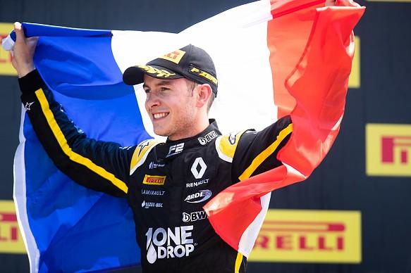 Anthoine Hubert wins Ricard F2 2019