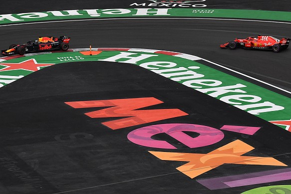 Ricciardo Vettel Mexican Grand Prix 2018