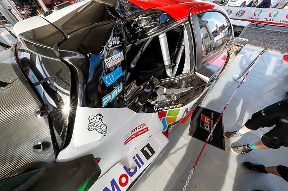 Latvala Corsica crash
