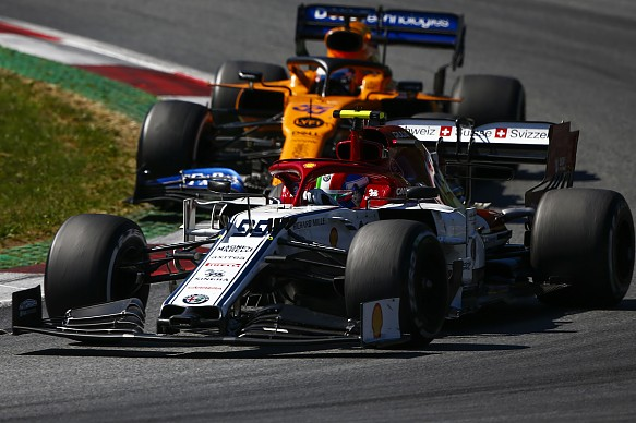 Antonio Giovinazzi Alfa Romeo Austrian Grand Prix 2019
