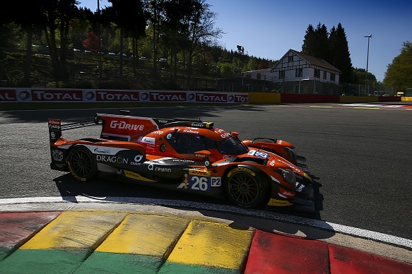 G-Drive Racing Jean-Eric Vergne Roman Runsinov Andrea Pizzitola LMP2 WEC Spa