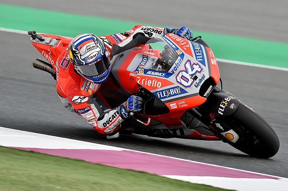Andrea Dovizioso Ducati MotoGP Qatar 2018