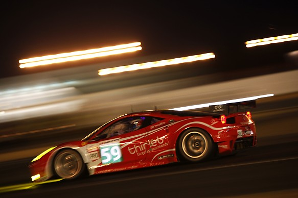 Fred Makowiecki Le Mans 24 Hours 2011