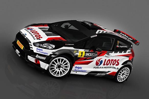 Kajetan Kajetanowicz Ford Fiesta R5 WRC2 design