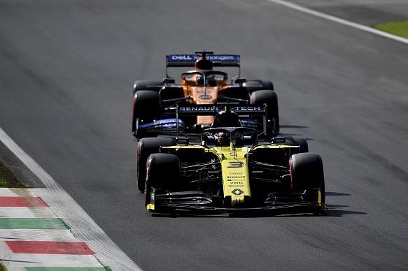 Hulkenberg Sainz Italian GP F1 2019