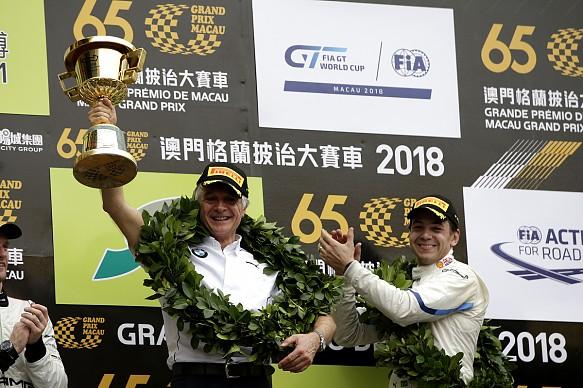 Charly Lamm Schnitzer BMW Macau GT World Cup 2018