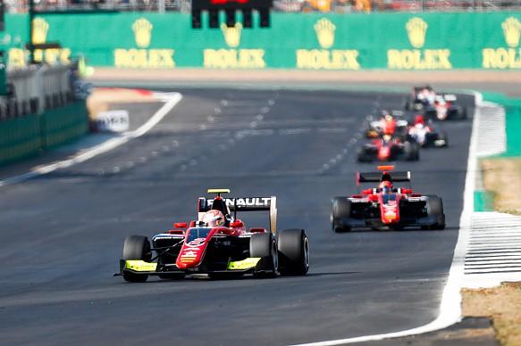 Hubert ART Silverstone GP3 2018