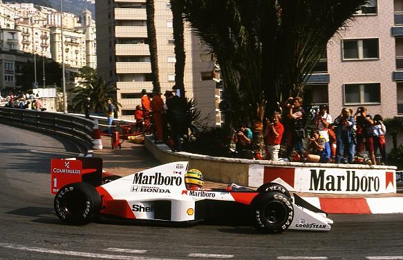 Ayrton Senna McLaren 1989 Monaco Grand Prix