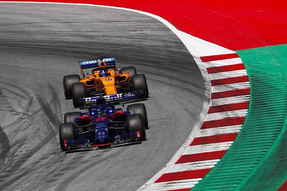 Toro Rosso and McLaren F1 2018
