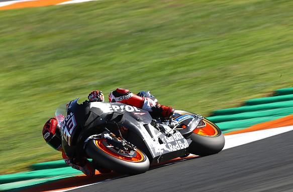 Marc Marquez 2019 Valencia MotoGP Honda test