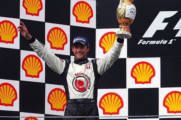 Jenson Button F1 2006 Hungarian GP