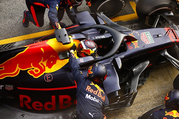 Max Verstappen Red Bull Barcelona F1 test 2018