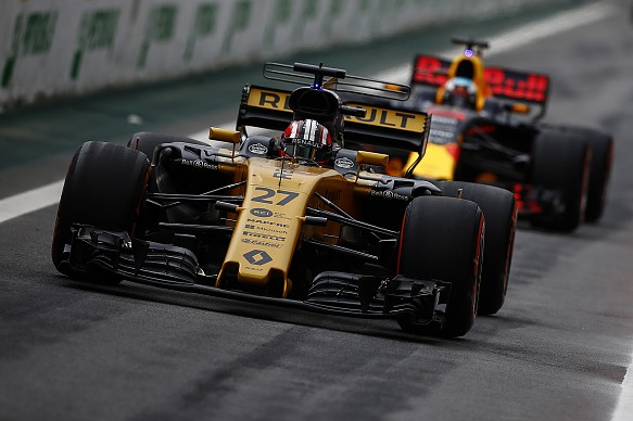 Hulkenberg Ricciardo Renault Red Bull F1 2017