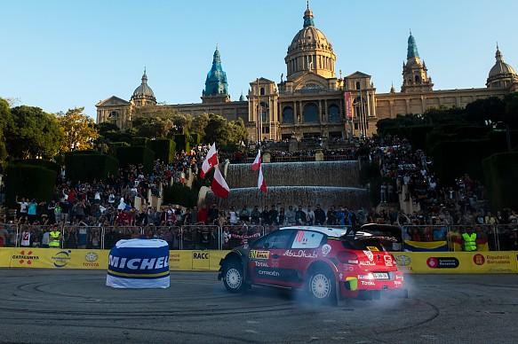 Sebastien Loeb Citroen WRC Rally Spain 2018