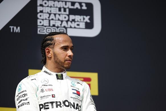 Lewis Hamilton Mercedes F1 2019 French GP