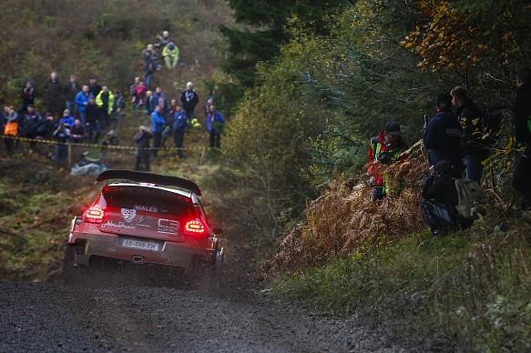 Kris Meeke Citroen WRC GB 2018
