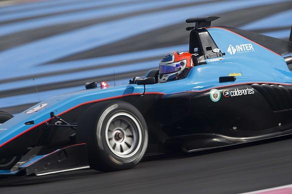 Tatiana Calderon Jenzer GP3 testing