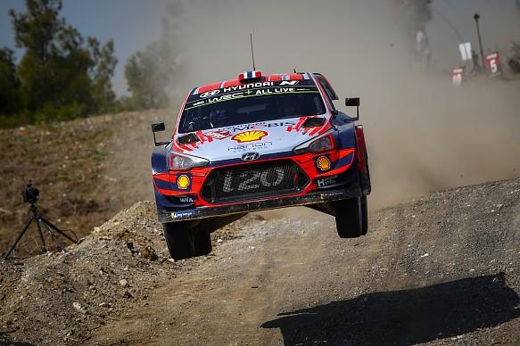 Andreas Mikkelsen Hyundai Rally Turkey WRC 2019