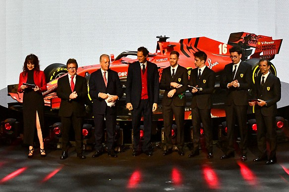 Ferrari 2020 F1 car launch