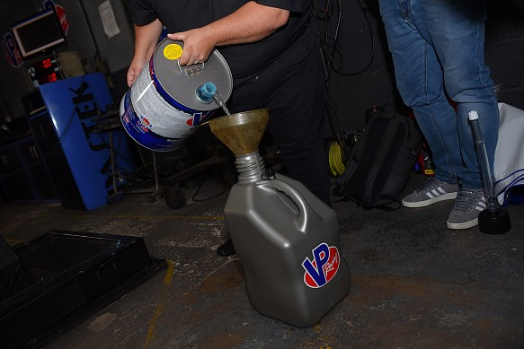 VP Racing fuels jerry can