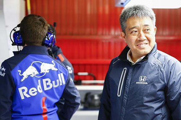 Masashi Yamamoto Honda F1 2018