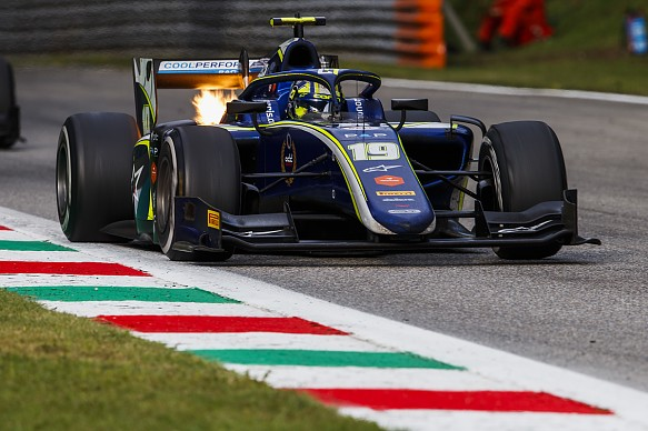 Norris Carlin F2 Monza 2018
