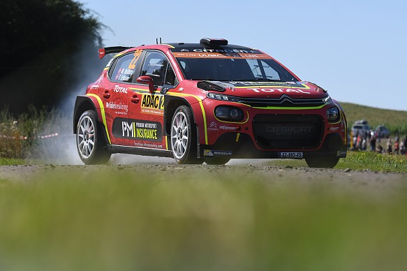 Mads Ostberg Citroen WRC Rally Germany 2019