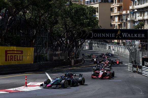 Alexander Albon DAMS Monaco F2 2018