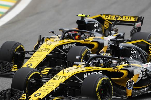 Sainz Hulkenberg Renault F1 2018