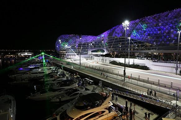 Abu Dhabi F1 atmosphere