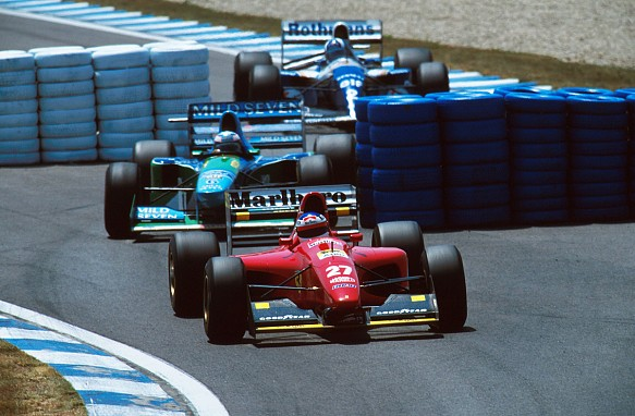 Spanish GP chicane 1994
