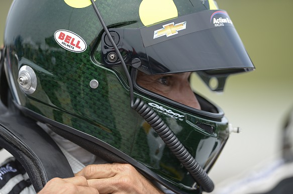 Christian Fittipaldi 2017 Bell Helmet