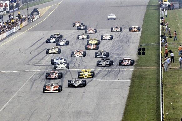 Italian GP F1 1978 start Monza