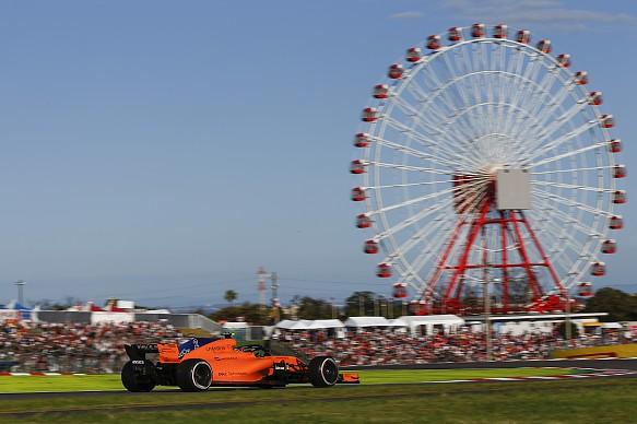 McLaren Japanese GP 2018