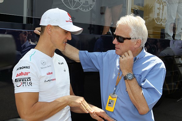 Michael Schumacher Charlie Whiting