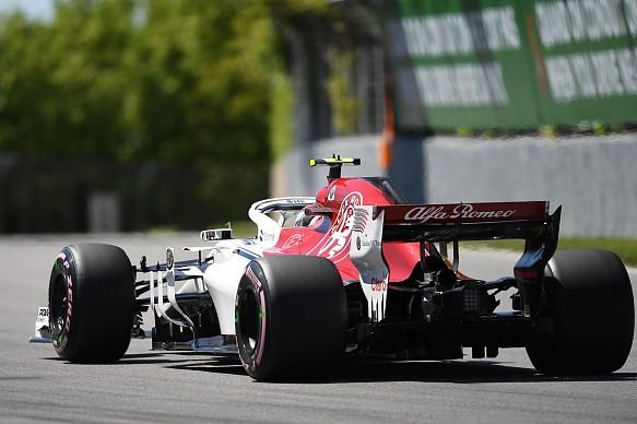 Charles Leclerc Sauber Canadian Grand Prix 2018