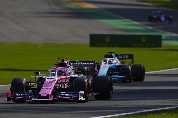 Stroll Russell Belgian Grand Prix 2019