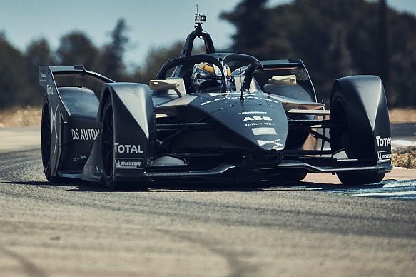 Jean-Eric Vergne DS Gen2 Formula E testing 2018