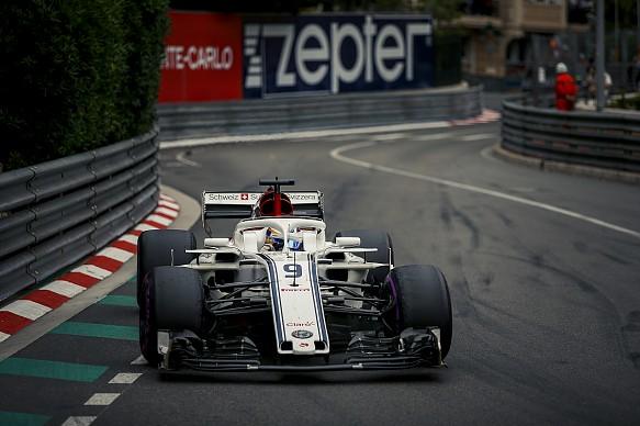 Marcus Ericsson Sauber Monaco Grand Prix 2018