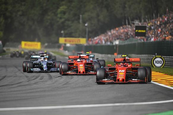 Belgian Grand Prix 2019 start
