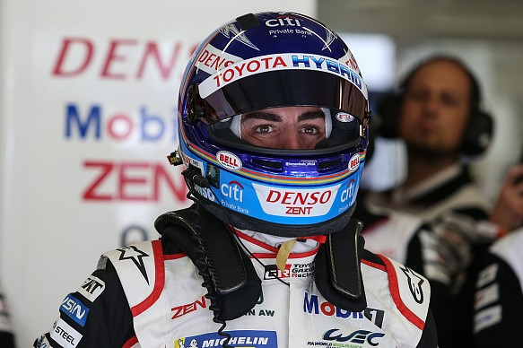 Alonso Toyota Le Mans 2019