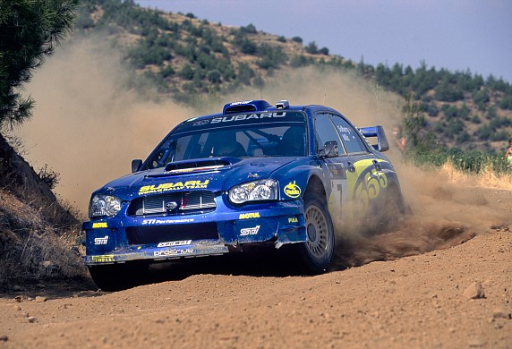 Petter Solberg 2003 Cyprus Rally