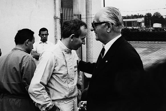 John Surtees Enzo Ferrari