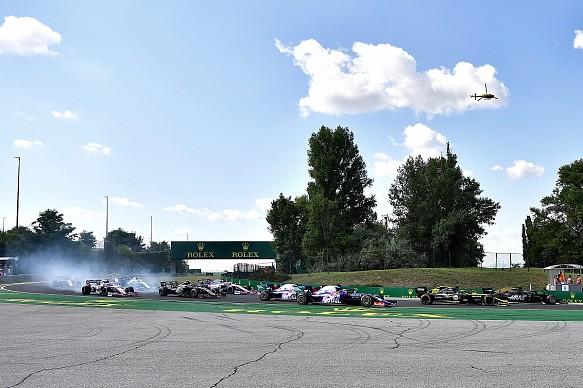 Hungarian Grand Prix 2019 start