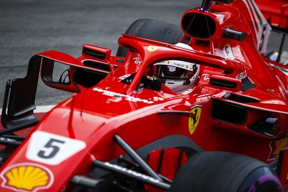 Vettel F1 testing 2018 Barcelona