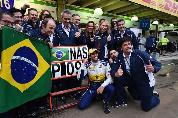 Felipe Nasr Sauber 2016 Brazilian Grand Prix