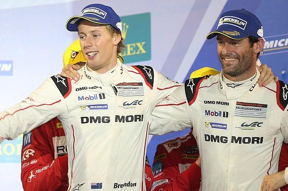 Hartley Webber Porsche LMP1