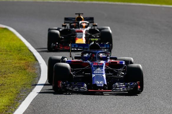 Toro Rosso Red Bull Japanese GP 2018