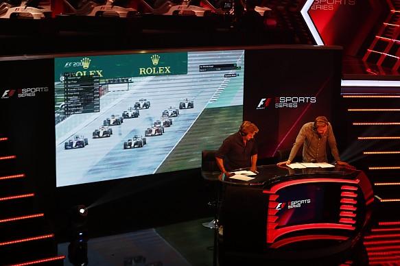 F1 esports event London 2017
