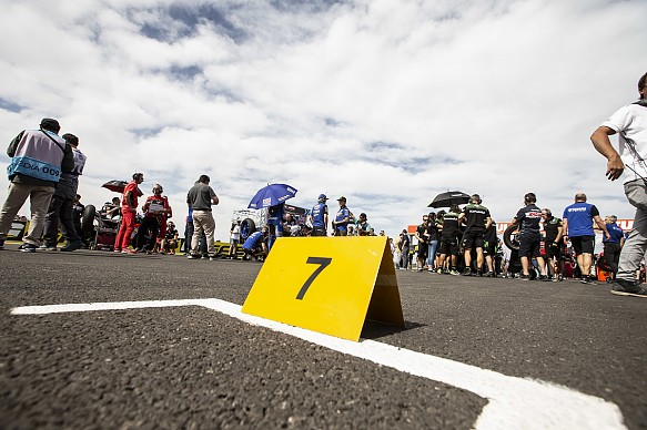 WSBK empty grid slot